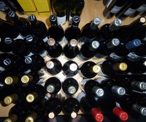 Südtirol Flaschen von oben